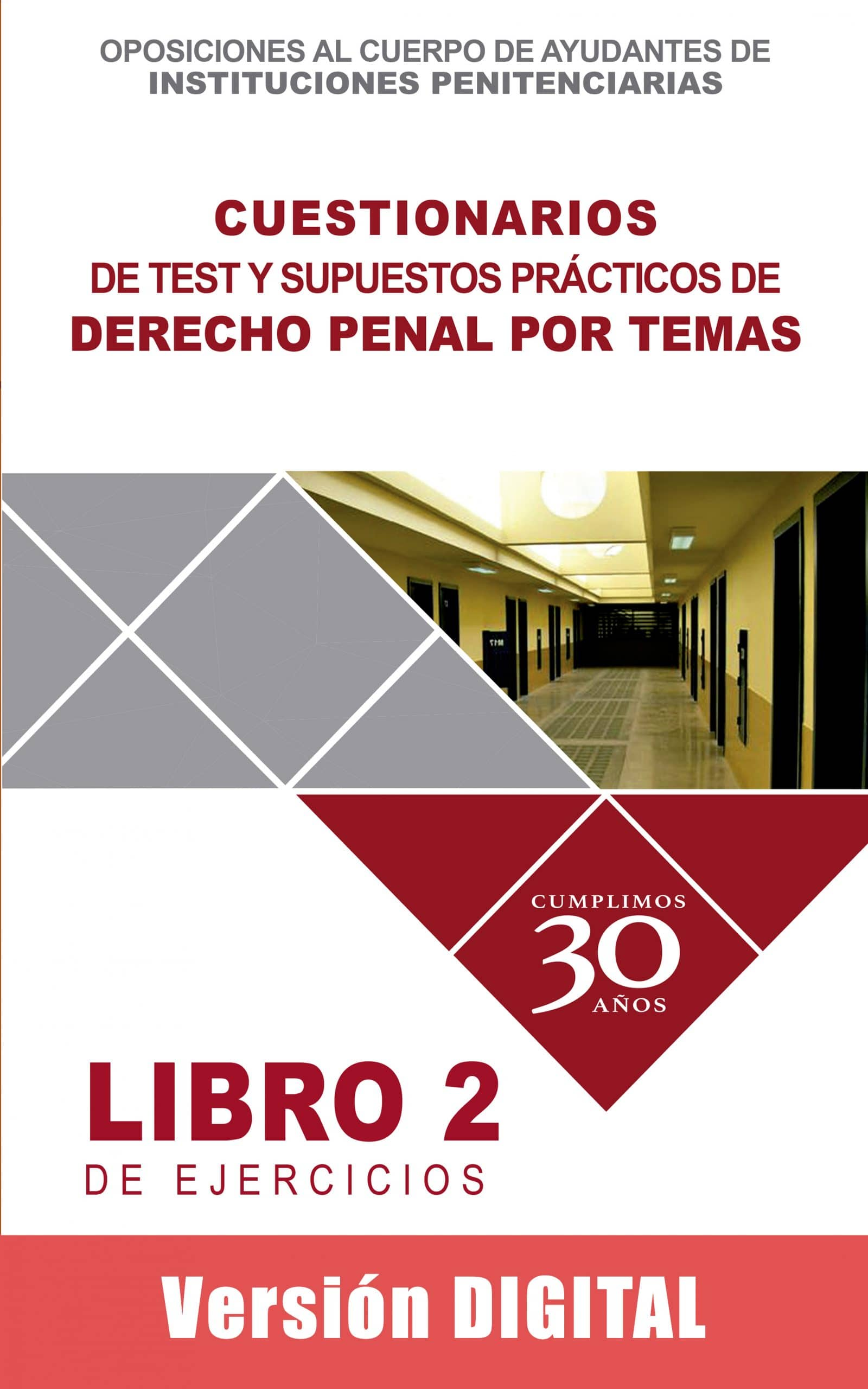 Cuestionarios de Test y Supuestos Prácticos de Derecho Penal por temas.