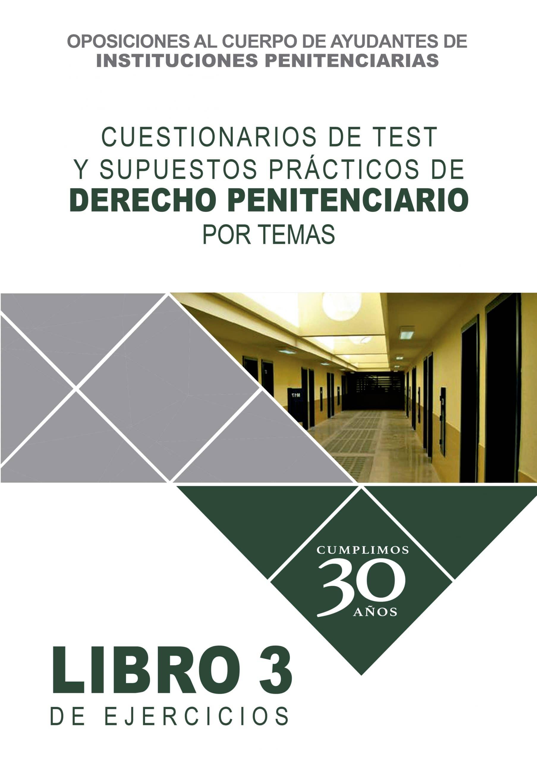 cuestionarios derecho penitenciario